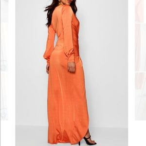 BooHoo  Daria twist front gown like Maxi dress
